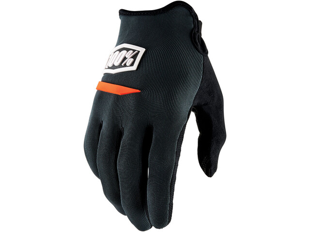 100% Ridecamp Gloves charcoal